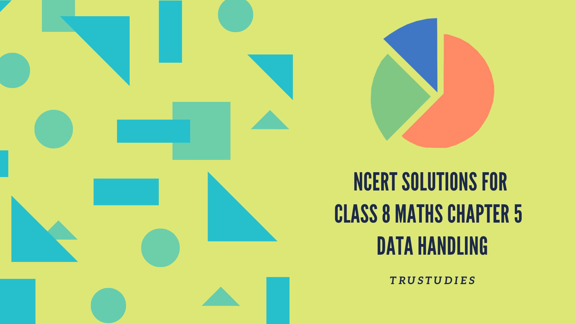 NCERT solutions for class 8 maths chapter 5 data handling banner image